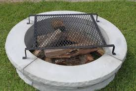 Grill For Fire Pit by Concrete Fire Pit Concrete Steps Product Categories