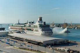 vision of the seas sets sail from galveston cruise industry news