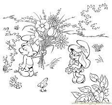 smurfs coloring 08 coloring free smurfs coloring pages