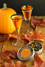 halloween cocktail rim sugar haunted pumpkins rim sugar