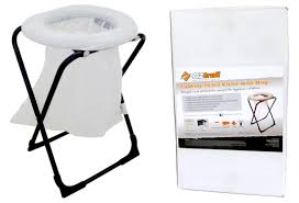 oztrail folding toilet chair with bags youtube