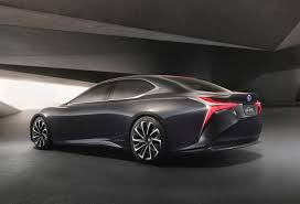 lexus compact cars lexus unveiled the lf fc concept at 2015 tokyo motor show