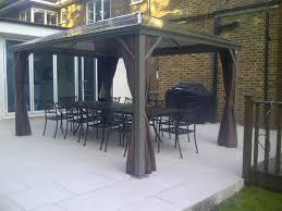 Polycarbonate Porch by Kensington 3m X 3m Polycarbonate Patio Pavilion