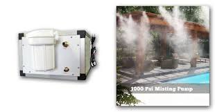50 psi water pump 1000psi misting pump high pressure misting pump