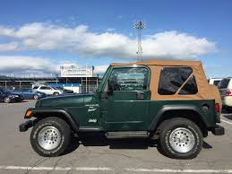 wood panel jeep wrangler quadratop replacement soft top with tinted windows for 97 06 jeep