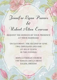 wedding invitation pictures blue and pink floral bohemian wedding invitation ewi298 as low as