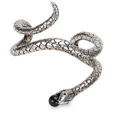 silver snake bracelet images Saint laurent silver snake bracelet thedoublef jpg