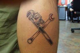 wrench tattoo ideas pictures to pin on pinterest tattooskid