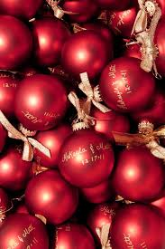 christmas ornament favors favors from dollar tree with gold or silver sharpie write thank