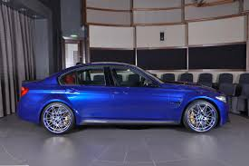 Bmw M3 Blue - san marino blue bmw m3 mixes it up with carbon fiber and akrapovic