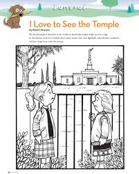 tithing coloring page temple lds lesson ideas page 2