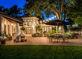 hanging outdoor string lights garden design with the best outdoor string lights plus hanging on