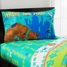 Scooby Doo Bed Sets Scooby Doo Smiling Scooby Sheet Set From Walmart My