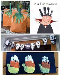 Halloween Craft Kids - 16 halloween handprint and footprint crafts i heart arts n crafts