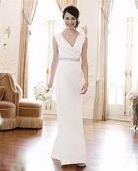 ann taylor mya cowl neck wedding gown wedding dress on tradesy