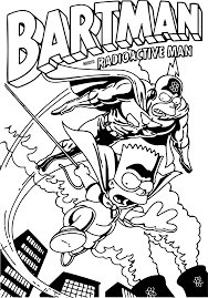 simpsons coloring pages getcoloringpages com