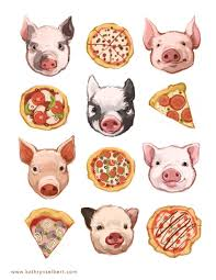 pig print party barn quilts clip art pictures pigs