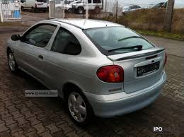2000 renault megane coupe 1 6 sport car photo and specs