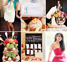 creative kitchen themed bridal shower themed bridal showers