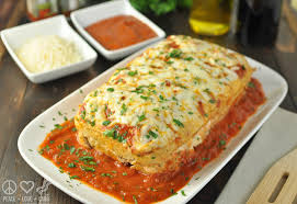 Main Dish Chicken Recipes - stuffed chicken parmesan keto meatloaf peace love and low carb