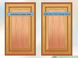 How To Hinge A Cabinet Door How To Clean Cabinet Hinges 13 Steps With Pictures Wikihow