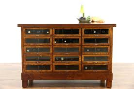sold kitchen counter island or display cabinet cherry glass
