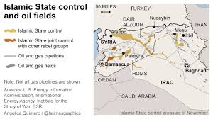 Islamic State Territory Map by How Does Islamic State Make Money Off Oil Fields In Syria And Iraq