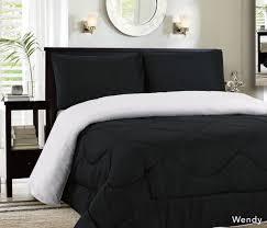 Black Down Alternative Comforter Awesome Black Andhite Bedspreads 9j21 Tjihome Comforter Home Decor