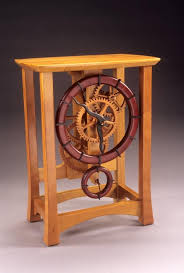 Free Wood Crafts Plans by Free Wooden Gear Clock Plans Download Woodworking Projects