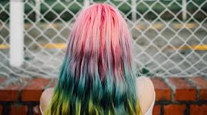 dye bottom hair tips still in style 9 vibrant home hair dyes for under 9 quid style the debrief