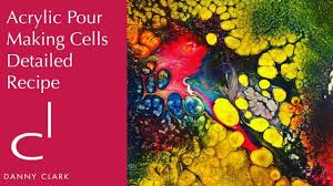 making cells detailed recipe acrylic pouring