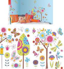 art applique fantasy garden wall sticker