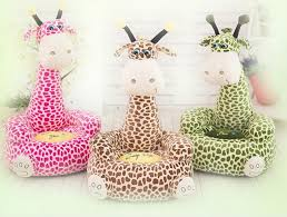 2016 baby seat beanbag cartoon kawaii cute giraffe children sofa