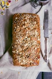 Pumpkin Spice Bread Machine Grandma U0027s Whole Wheat Sunflower Honey Oatmeal Bread Ambitious
