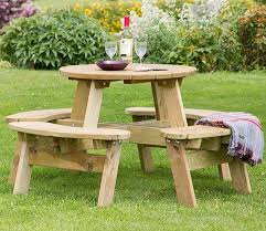 best 25 round picnic table ideas on pinterest picnic tables