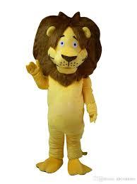 lion costume new high quality big lion mascot costume size character big