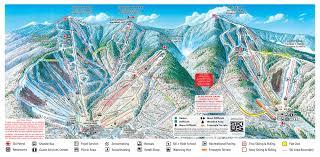 Colorado Ski Resorts Map Aspen Piste Maps And Ski Resort Map Powderbeds Aspen Piste Maps
