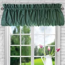 Hunter Green Kitchen Curtains by Orange Valances U0026 Kitchen Curtains You U0027ll Love Wayfair