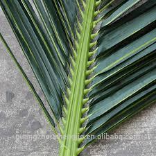 q100703 plastic palm leaves high quality artificial palm tree