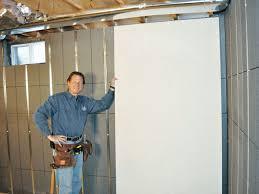 Finishing Basement Walls Ideas Finish The Basement With Basement Wall Panels Abetterbead