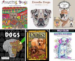 12 awesome coloring books for dog lovers dog milk