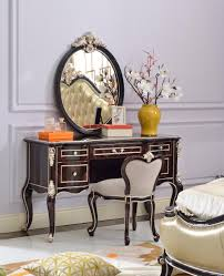 baroque style luxury bedroom furniture wood carving bedroom