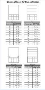 Roman Blind Measurement Calculator Roman Shade Tutorial That Doesn U0027t Appear To Be Written In Greek