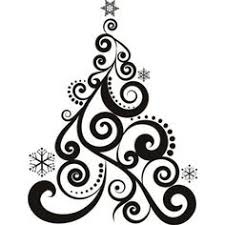 decorations clipart black and white decoration