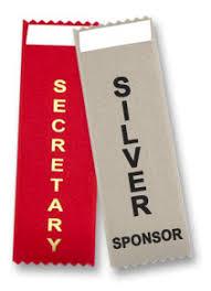 alumni ribbons vertical badge ribbons speaker sponsor volunteer 48 addl titles
