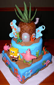 spongebob cake ideas luxury spongebob birthday cake spongebob birthday cake ideas 4 all