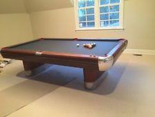 vintage 1965 fischer billiards empire viii pool table ball return