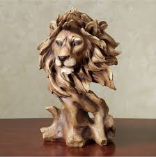 Safari Home Decor by Safari And African Home Decor Touch Of Class Lion Bust Sculpture