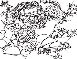5 traxxas summit coloring pages drawing truck 4x4 rc