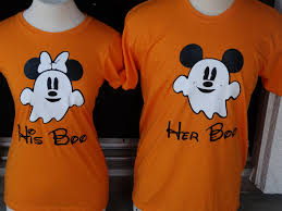 free shipping for us disney inspired mickey and minnie ghost